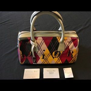 Christian Dior Boutique Geometric Print Monogram